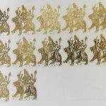 Durga Metal Sticker