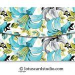Back of Pastel Theme Floral Envelopes