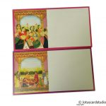 Inserts1 of Boxed Style Wedding Card with Rajasthani Royal Theme