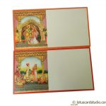 Inserts2 of Boxed Style Wedding Card with Rajasthani Royal Theme