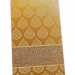 Golden Fibro Rich Shagun Envelope in Pure Gold
