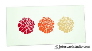 Multicolor Floral Print Gift Envelope