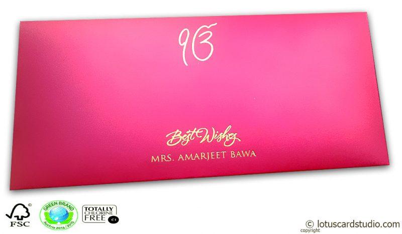 Signature Premium Paradise Pink Envelope