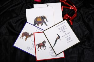 Inserts of Animal Theme Wedding Invitation