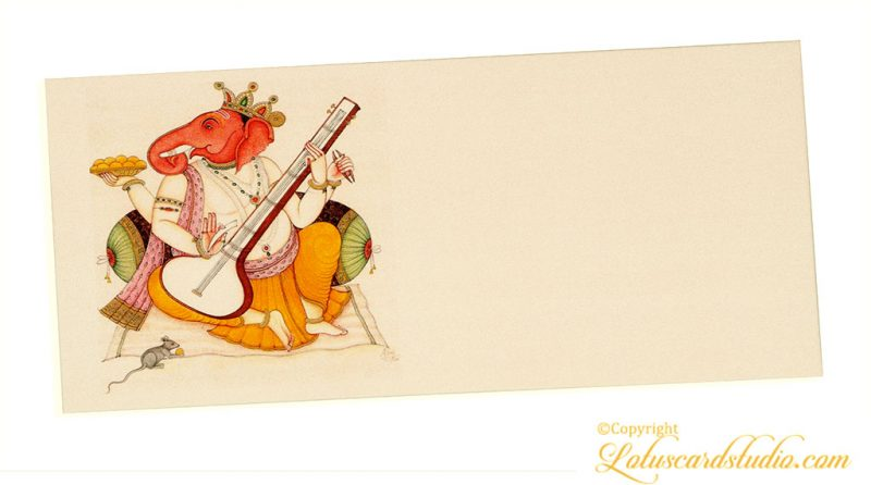 Ganpati Ji Shagun Envelope