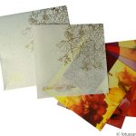 White and Golden Theme Indian Wedding Card