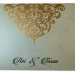 Envelope of Dazzling Laser Cut Wedding Invite