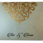 Envelope of Dazzling Laser Cut Wedding Invite