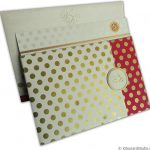 Polka Dots Wedding Card