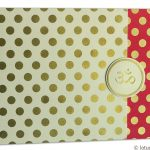 Card of Polka Dots Wedding Card