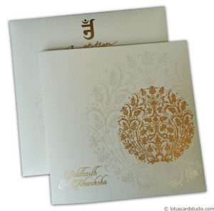 Princess Crown Wedding Invitation