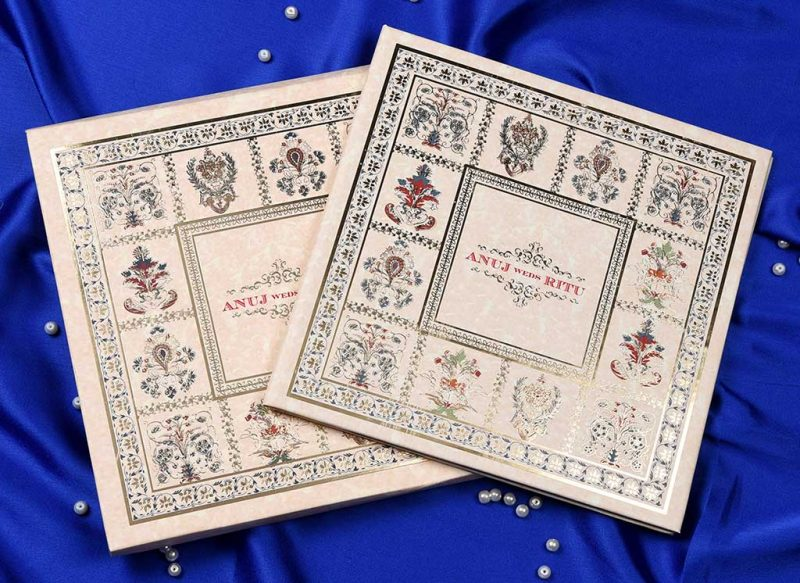 Traditional Indian Parampara Wedding Card