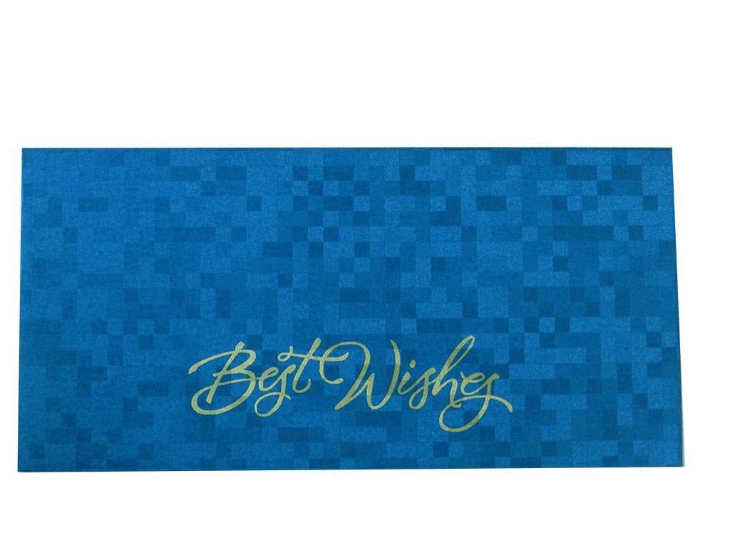 Self Design Money Envelope in Blue