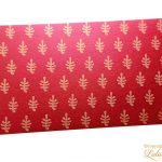 Gift Envelope with Sea Plant Pattern
