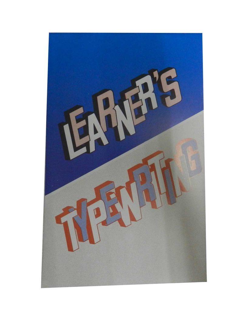 Learner's Typewriting