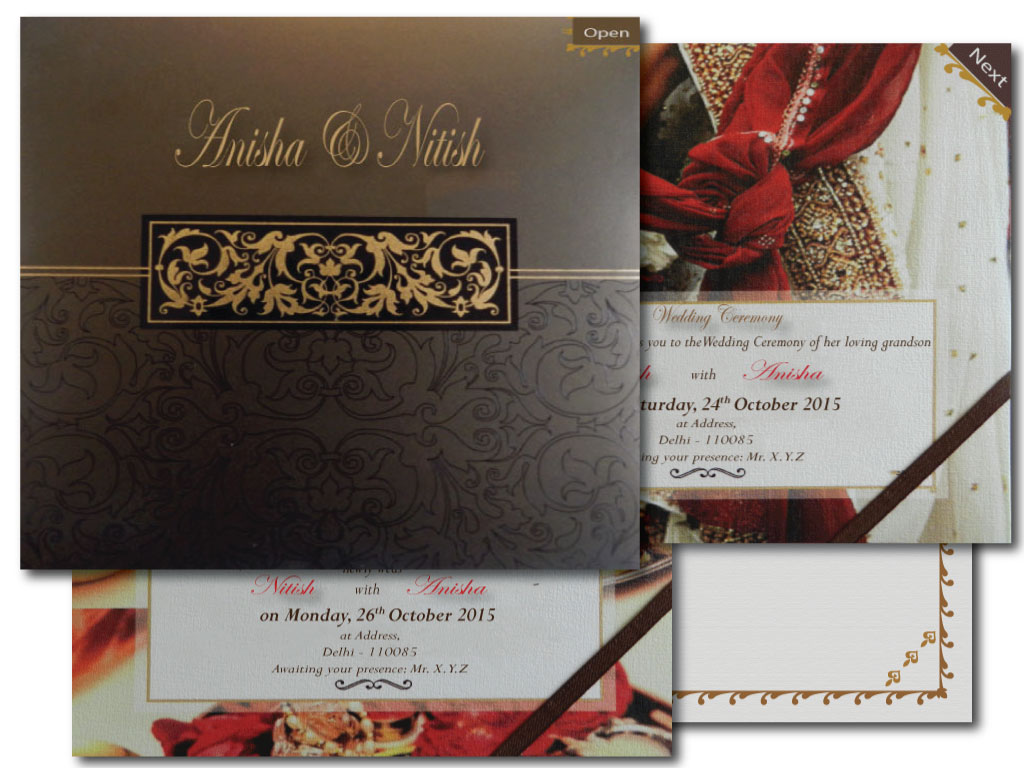 EInvitation Wedding Card