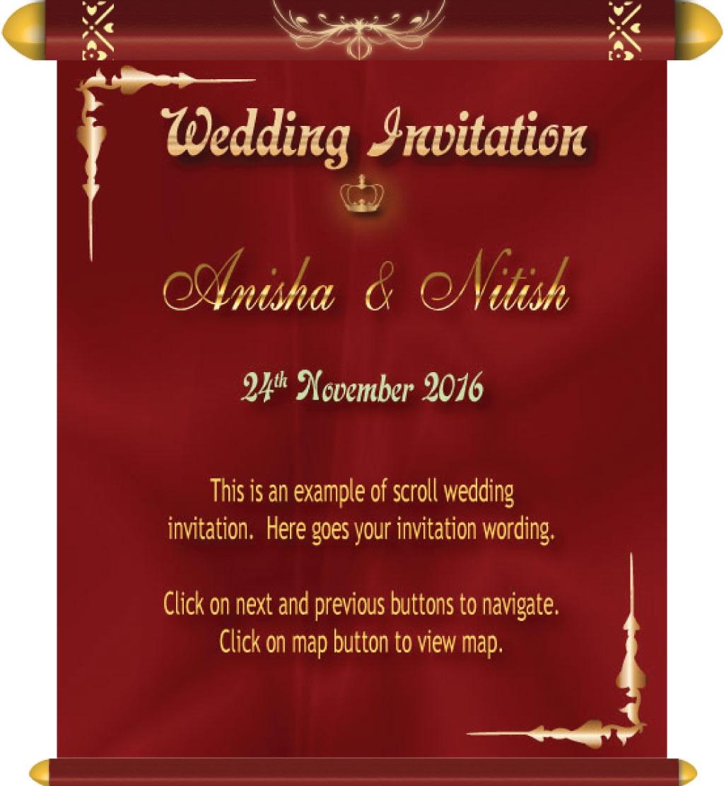 Wedding E-Invitation