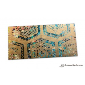 Modern Digital Printed Signature Shagun Gift Envelope