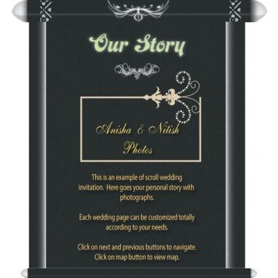 Musical Animated E Invitation Wedding Card