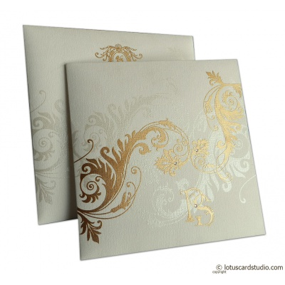 Wedding Invite with Fantasy Inserts - WC_150