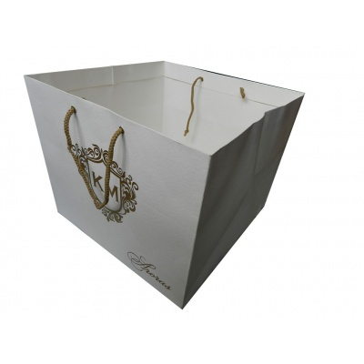 White Gift Bag | Carry Bag - Image2