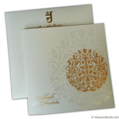 Princess Crown Wedding Invitation - WC_126