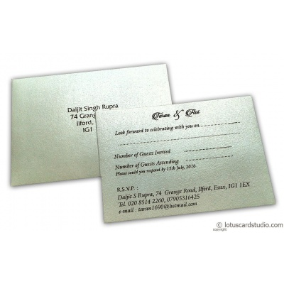 RSVP Card in Glittering Pearl Whtie - RSVP_02