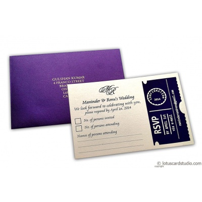 RSVP Card in Imperial Purple - RSVP_01