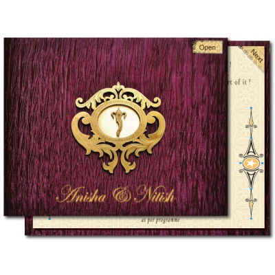 Musical and Animated E-Invitation Wedding Card - EI_01
