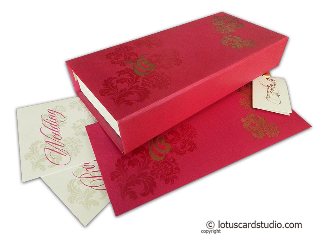 Boxed Wedding Invitations   Boxed Wedding Cards